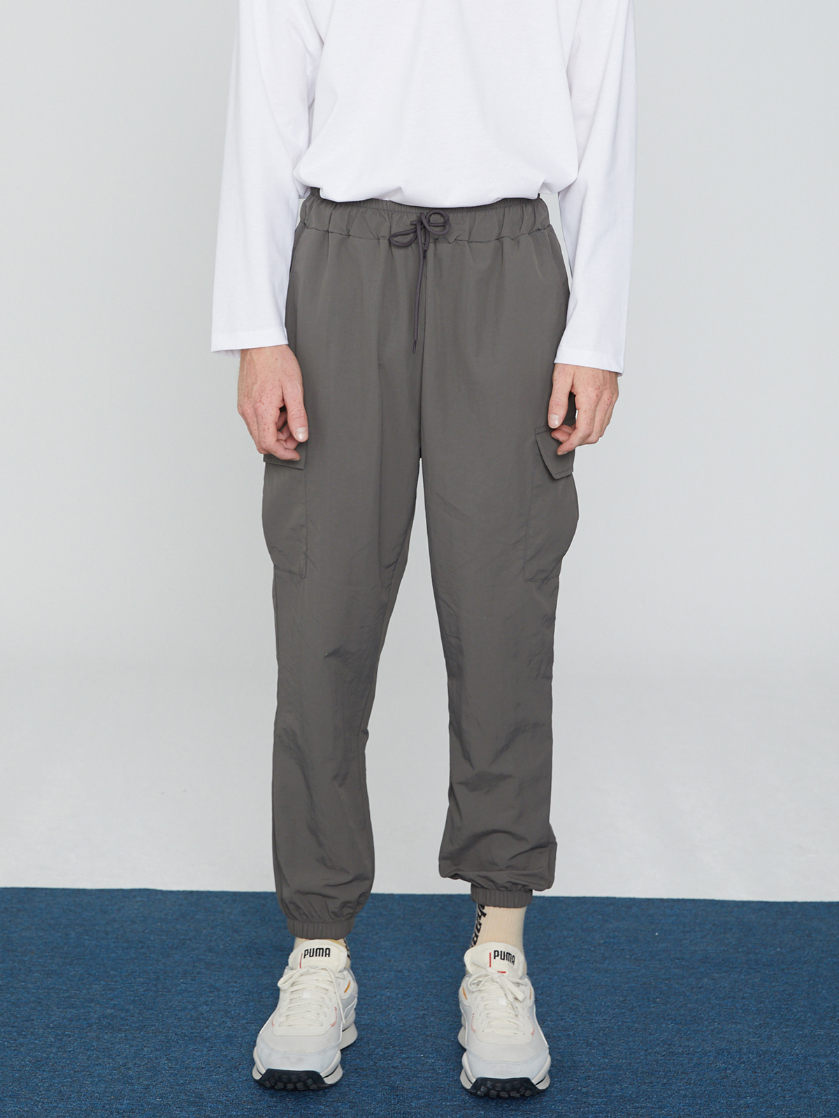 Anorak Pants Gray