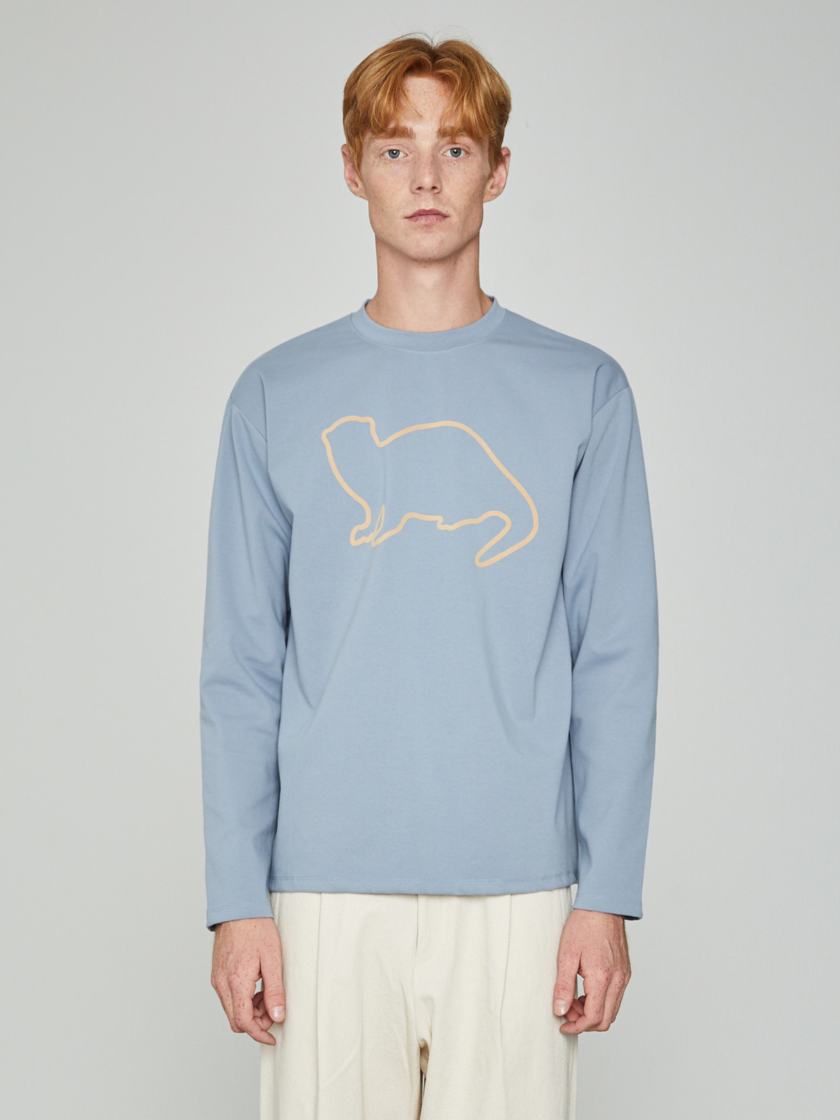 Lazyotter Drawing Long Sleeve Sky