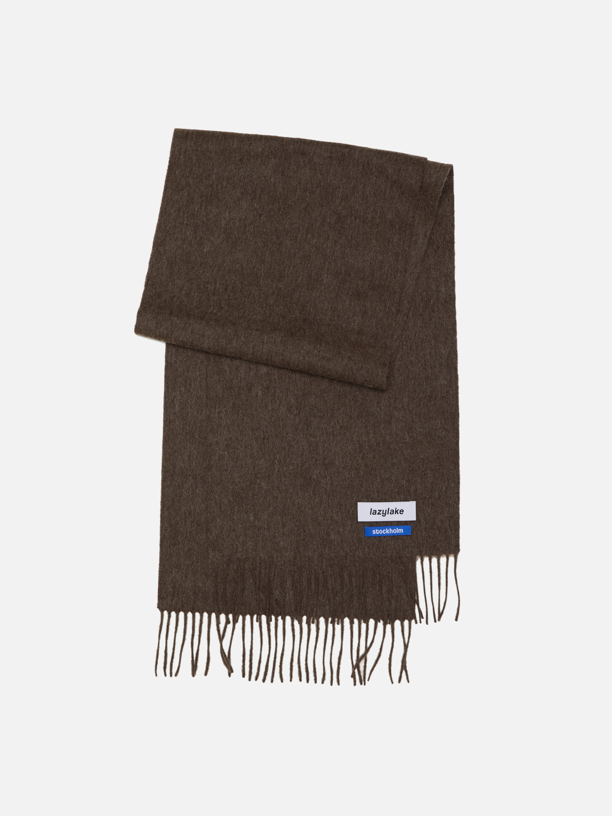 Brown Wool Muffler